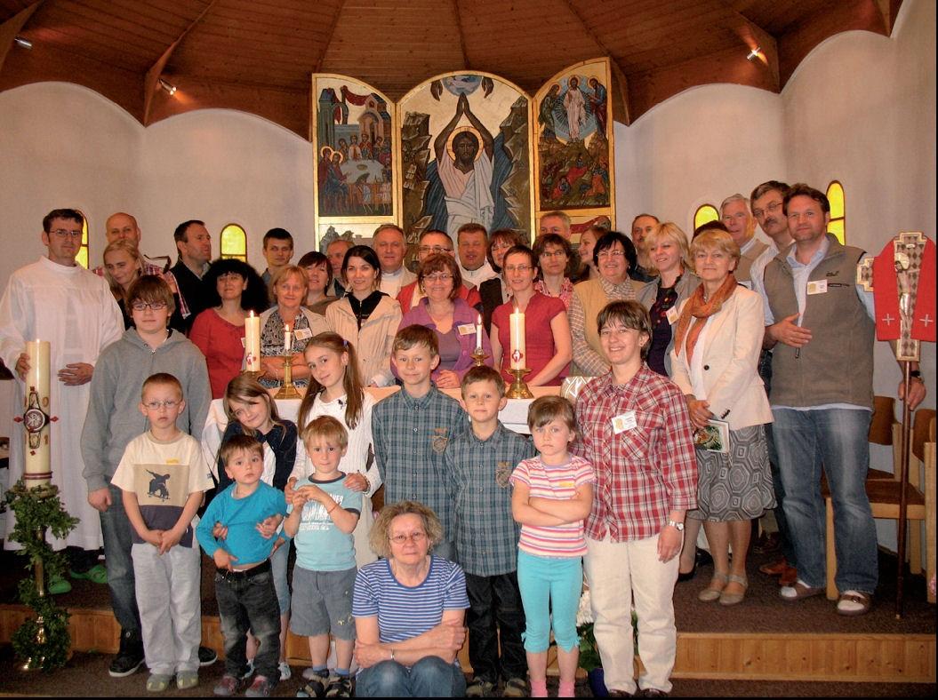 Świadectwo z Rekolekcji dla par rejonowych 06.-08.05.2011