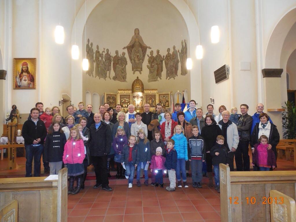 Relacja z rejonowego Dnia Wspólnoty rejonu Paderborn-Bielefeld-Dortmund-Köln